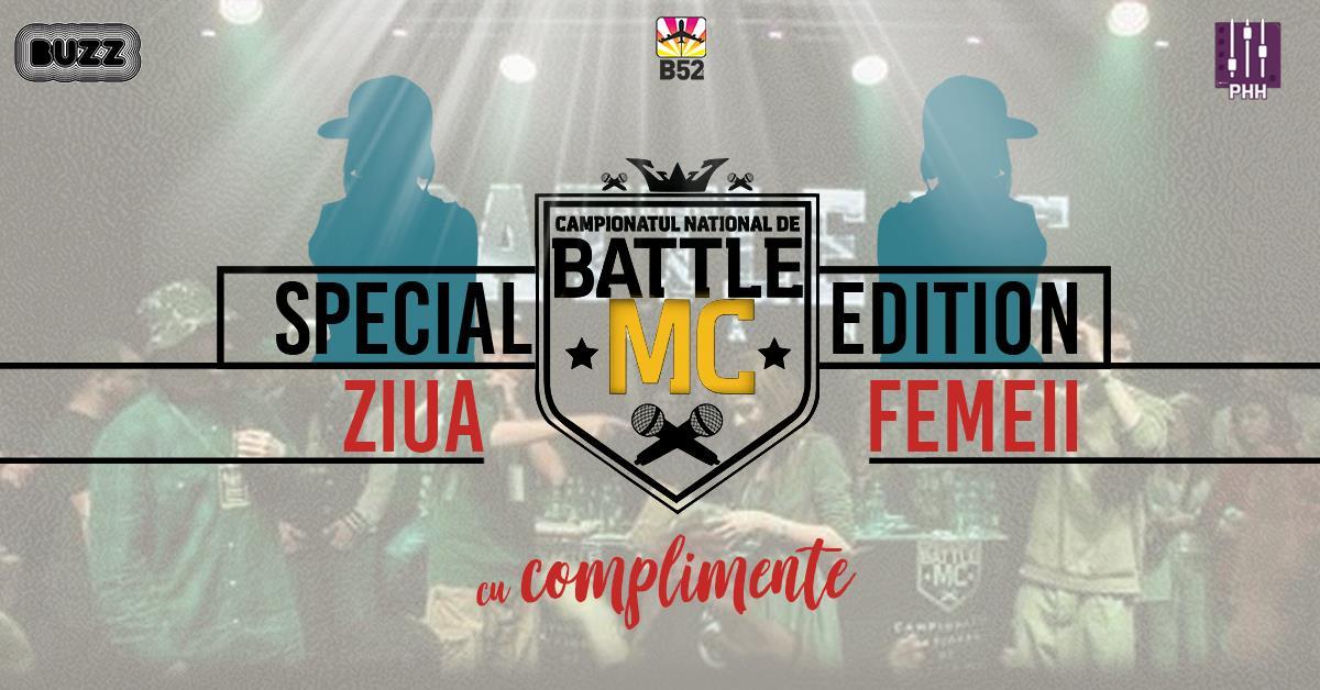 Battle MC (Complimente) - Ziua Femeii - Club B52