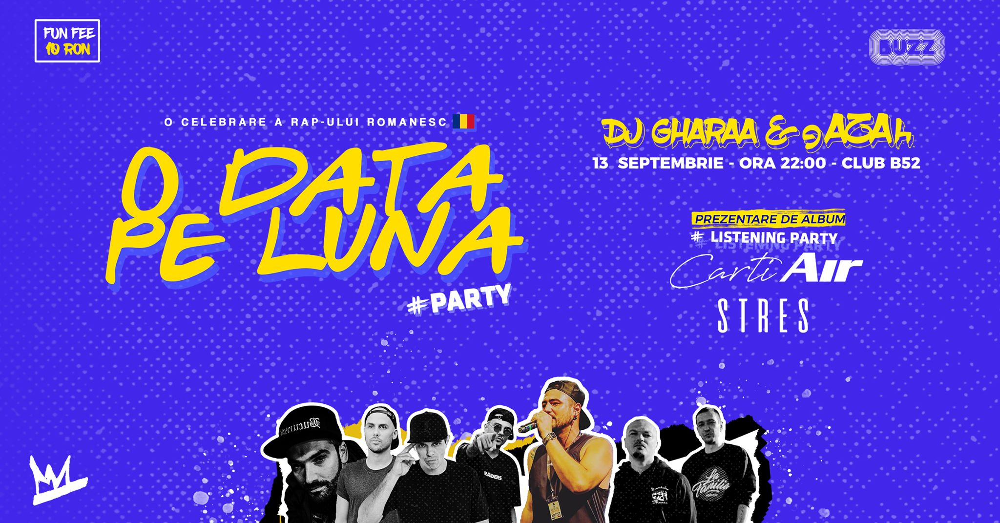 O Data Pe Luna w gAZAh & DJ Gharaa - Invitat Stres