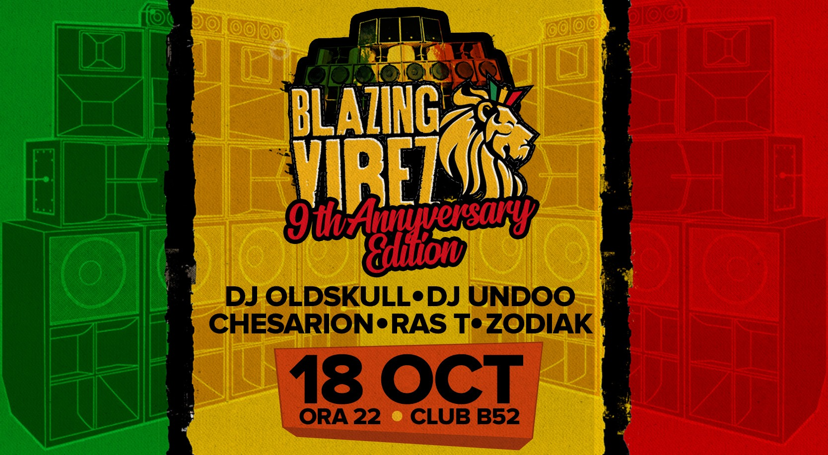 Blazing Vibez 9th Anniversary - Full Crew Showcase