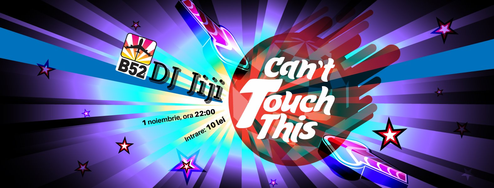 Cant Touch This cu Dj Jiji (80s - 90s Party)