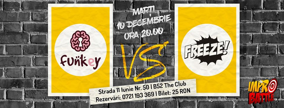 Impro Battle - FunKey vs. Freeze 10.12