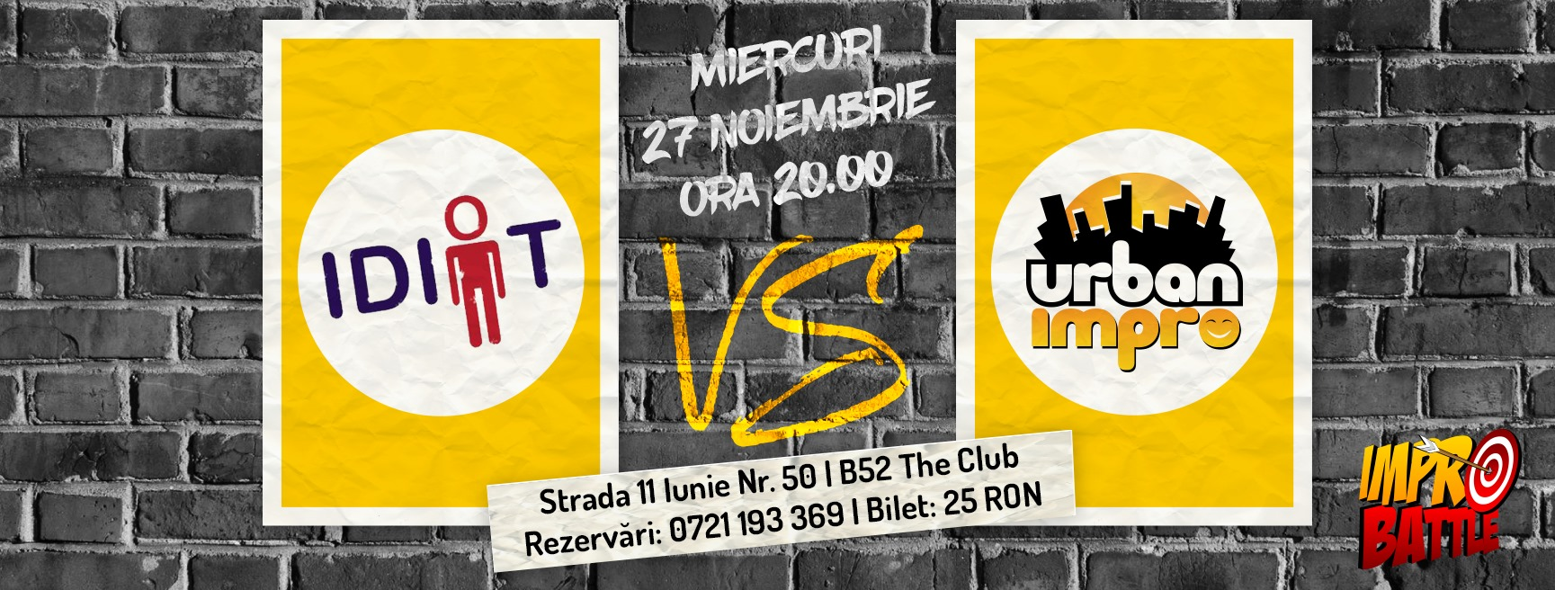 Impro Battle - IDIOT vs. Urban Impro