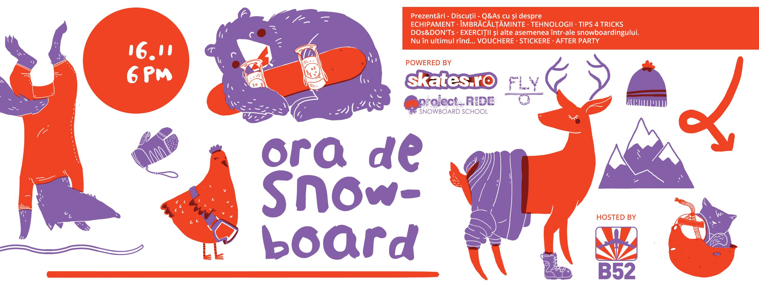 Ora de snowboard Skates.ro
