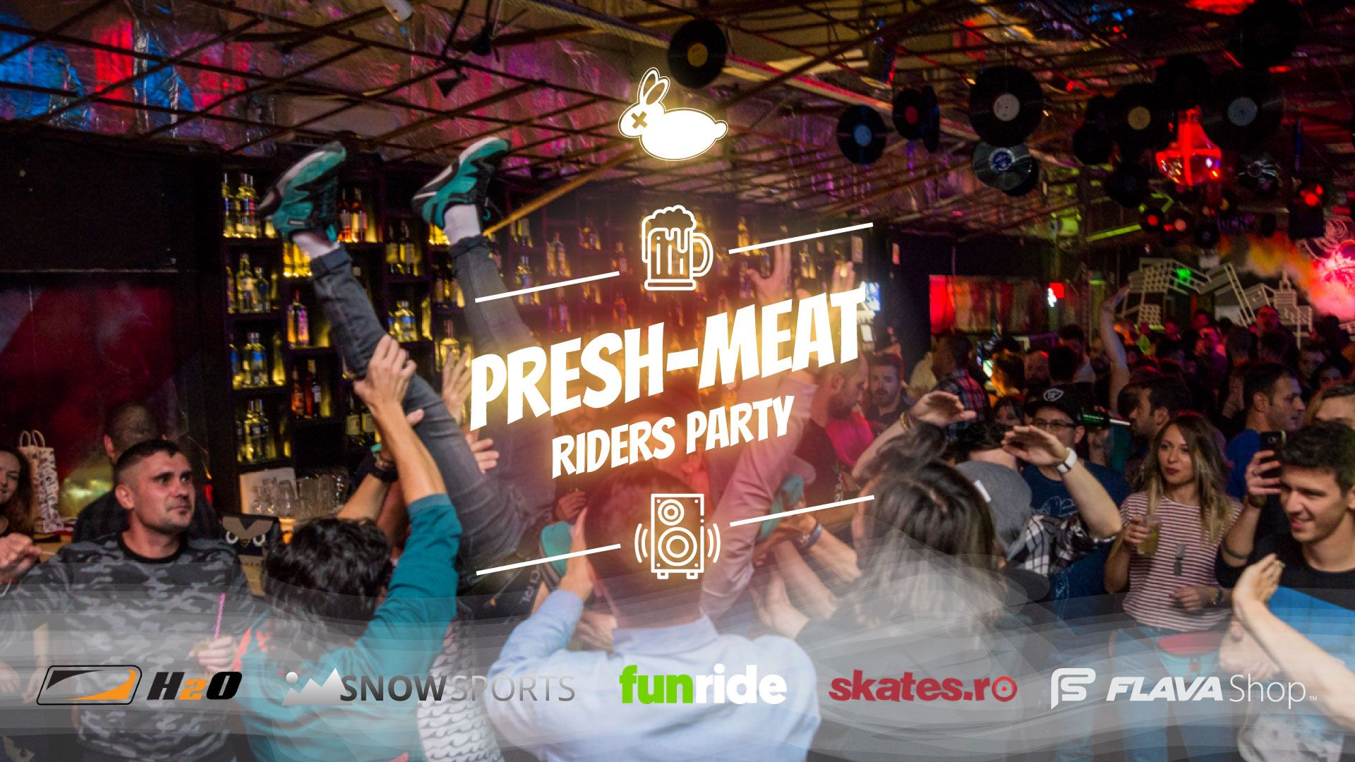 Presh-Meat riders party club B52 7 decembrie