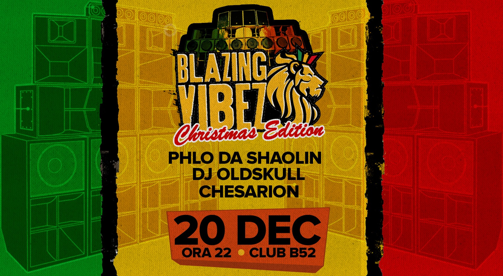 Blazing Vibez Christmas Edition at B52 Club
