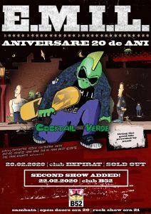 E M I L - Aniversare 20 De Ani (second show)