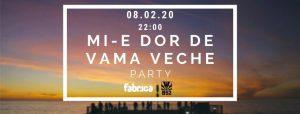 Mi-e Dor De Vama Veche Party at club Fabrica & B52