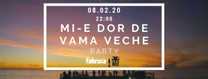 Mi-e Dor De Vama Veche Party at club Fabrica & B52