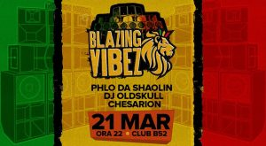 Blazing Vibez Reggae Party at B52 Club-21.03